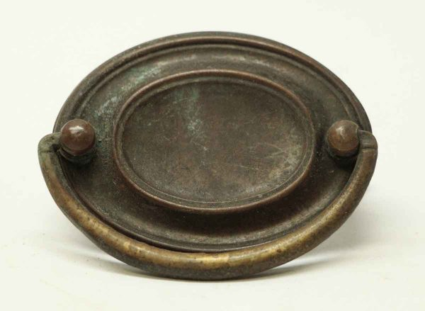 Antique Brass Hepplewhite Bail Pull - Cabinet & Furniture Pulls