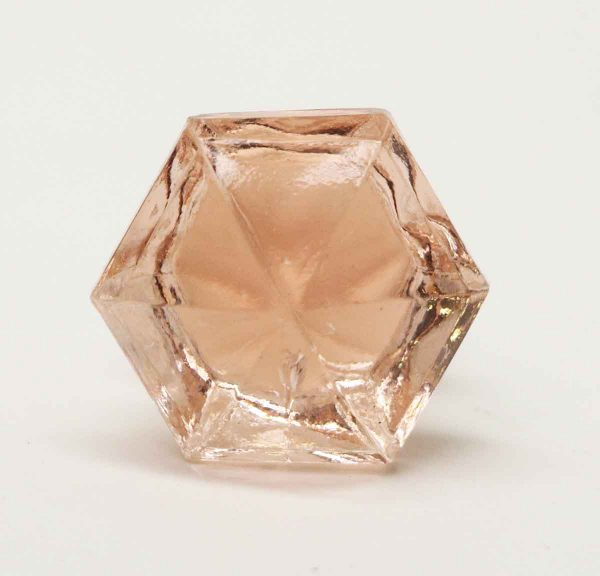 Vintage Pink Glass Stopper - Bottle Stoppers
