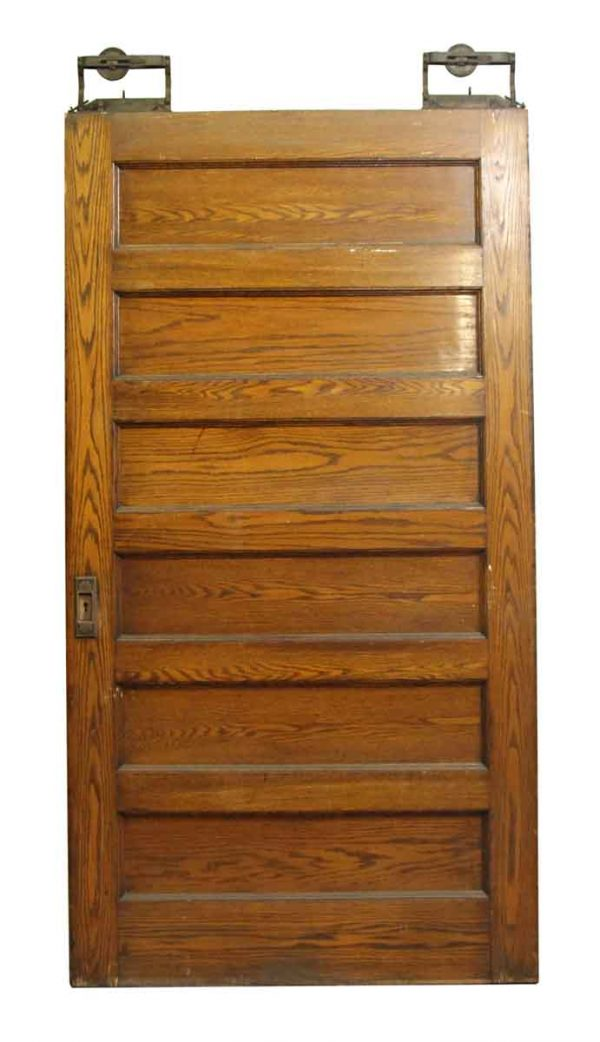 Pocket Doors - Oversize Old Oak Pocket Door