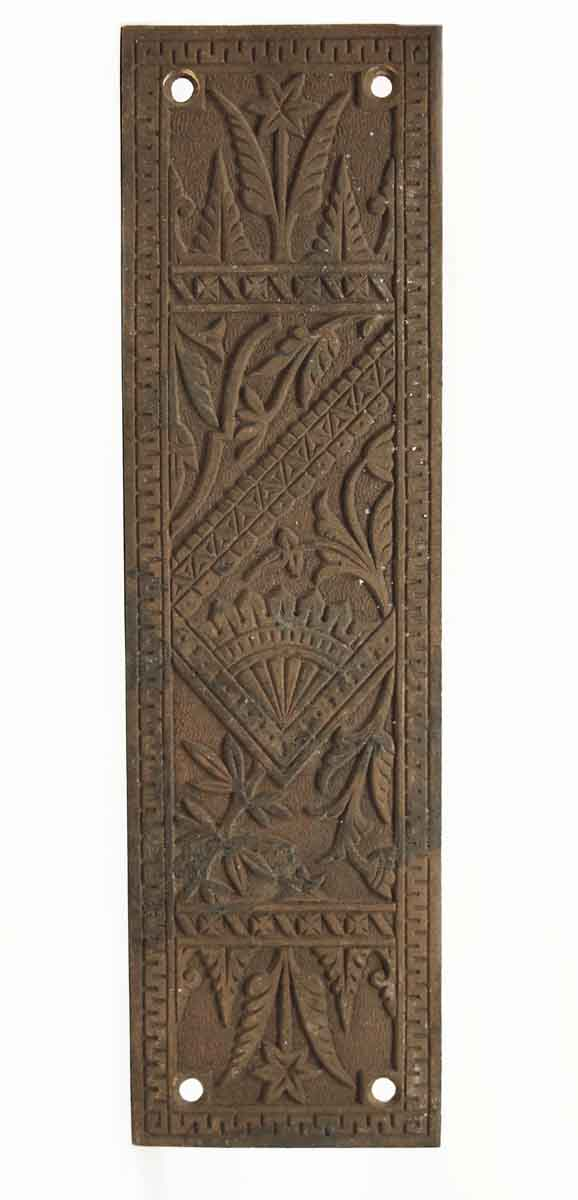Push Plates - Bronze Aesthetic Door Push Plate