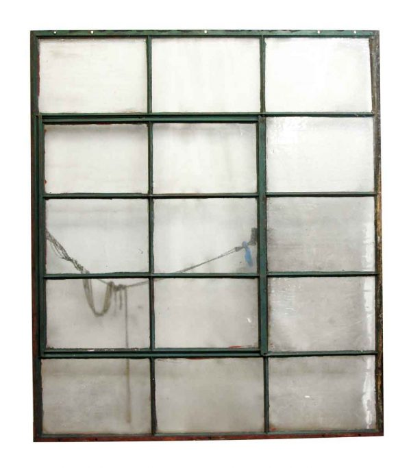 Reclaimed Windows - Salvaged Industrial 15 Pane Window
