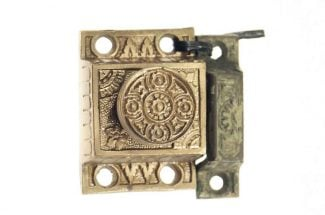 Antique Aesthetic Brass Plated Cabinet Latch