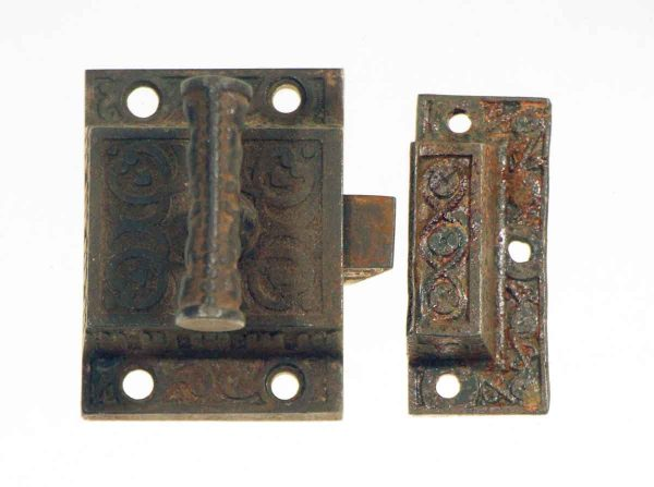 Cabinet & Furniture Latches - Iron Antique T Cabinet Latch