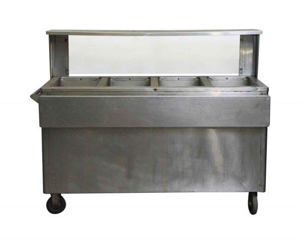 Commercial Furniture - Used Seco Matic Stainless Steel Hot Food Table