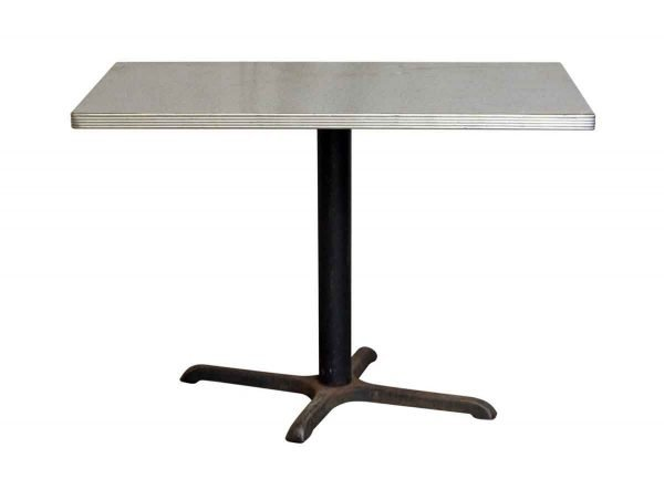 Commercial Furniture - Vintage Retro Gray Top Table