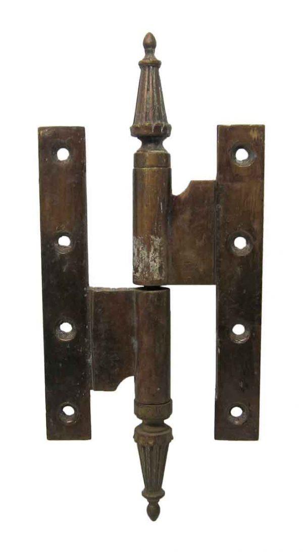 Door Hinges - Antique Brass Olive Hinge