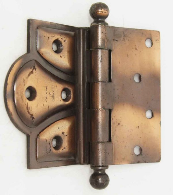 Door Hinges - Antique Copper Plated Butterfly Hinge