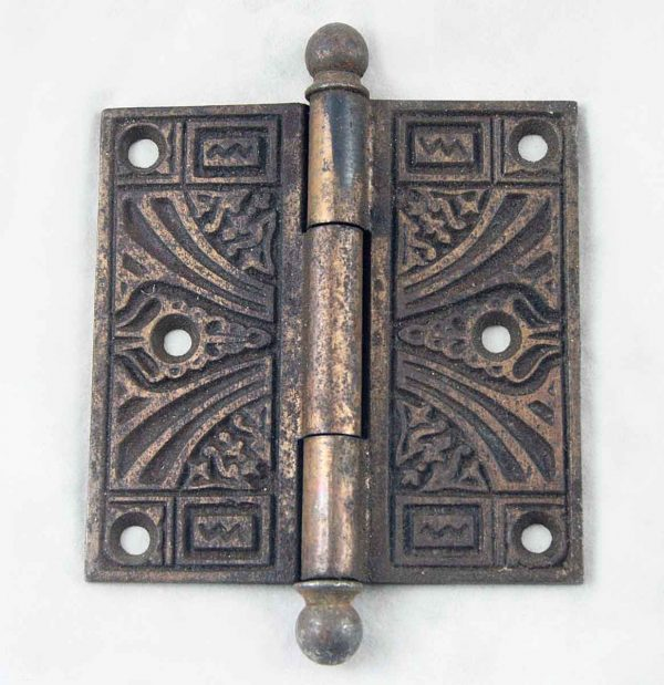 Door Hinges - Antique Victorian Ball Tipped Door Hinge