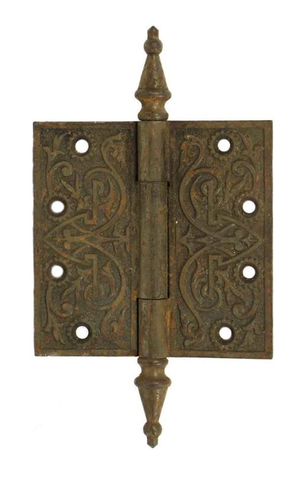 Door Hinges - Victorian Ornate Cast Iron Hinge