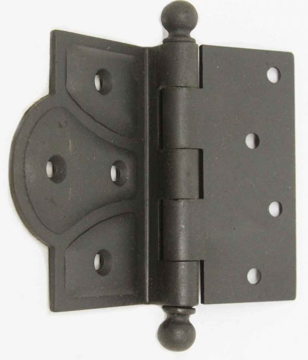 Door Hinges - Vintage Black Stanley Butterfly Hinge