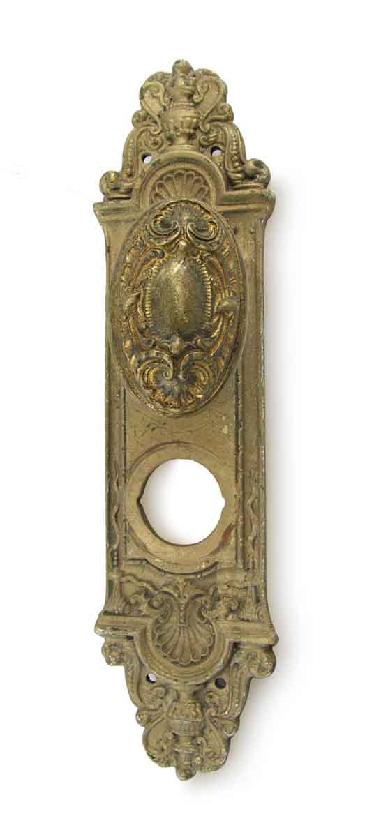 Door Knob Sets - Antique Louis XV Oval Door Knob Set