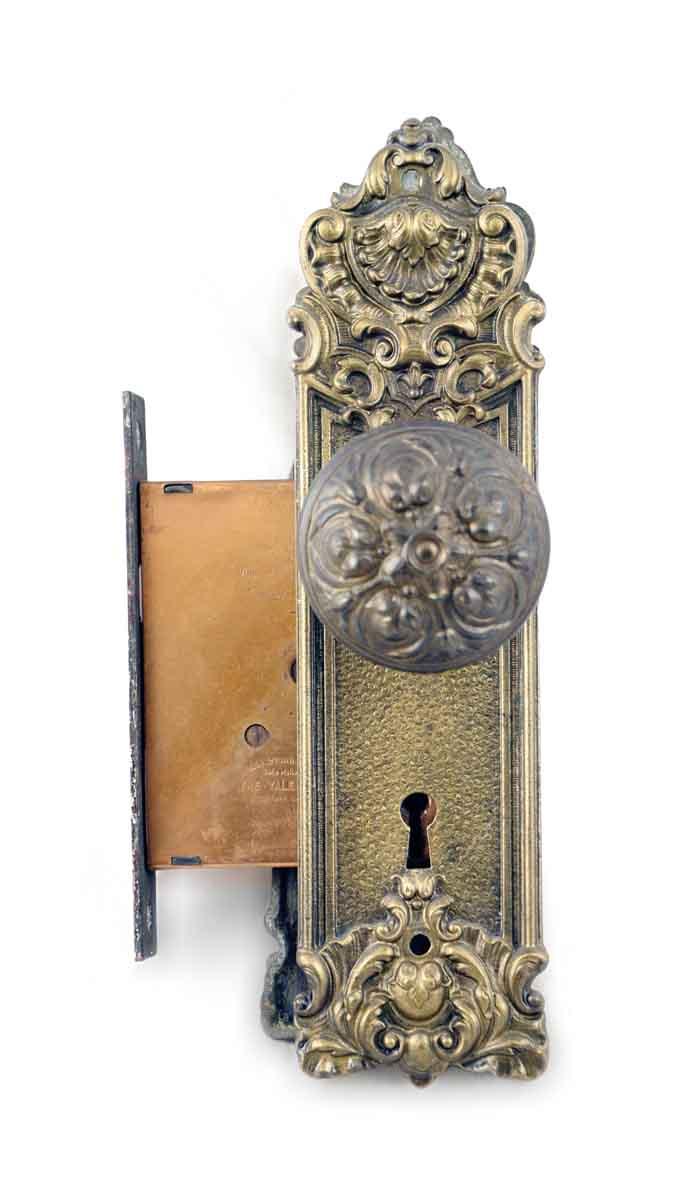 Antique Yale & Towne Italian Renaissance Door Knob Set   Olde Good ...
