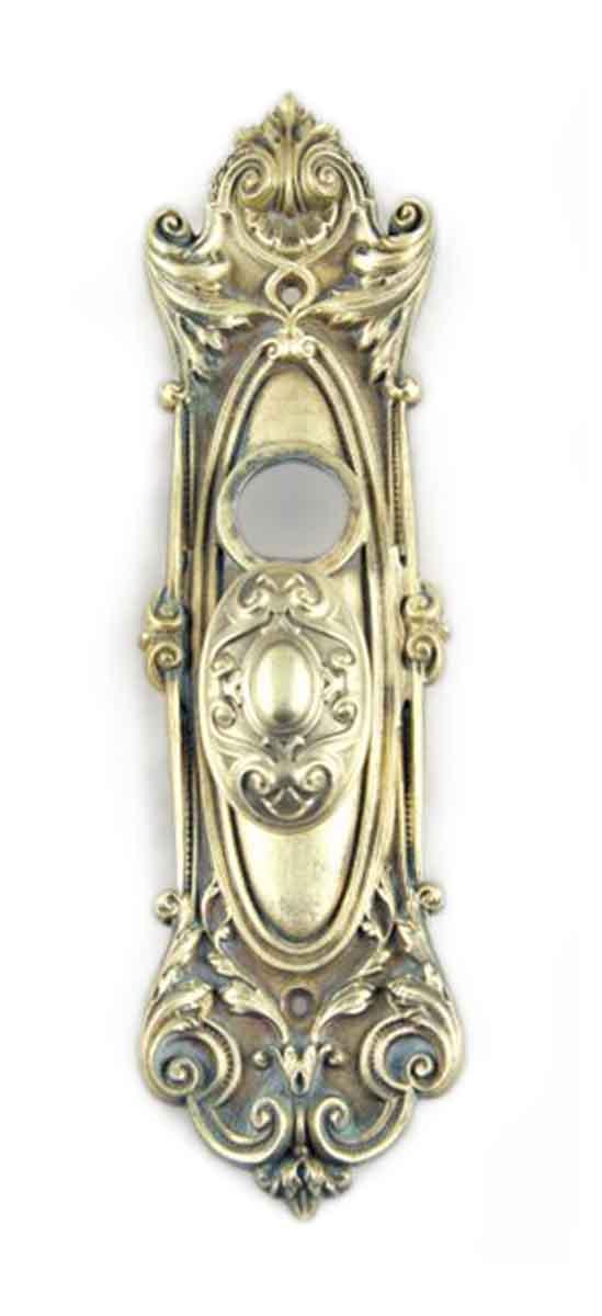 Door Knob Sets - Antique Yale & Towne Meridian Oval Knob Door Set