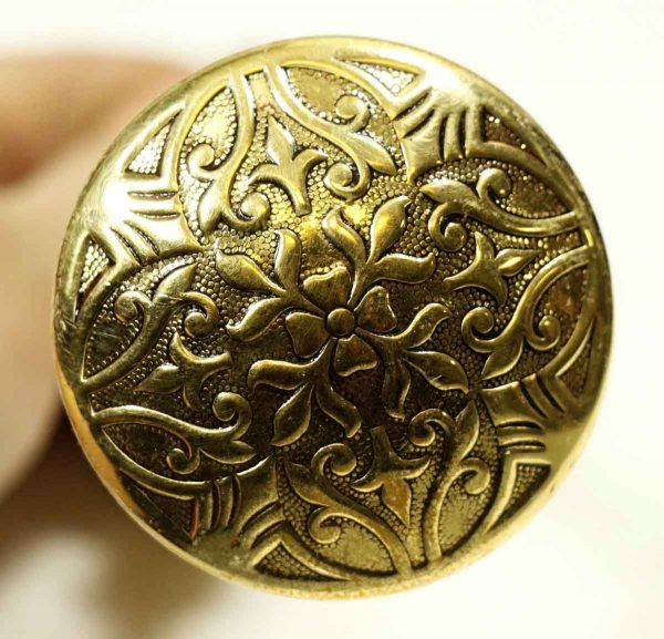 Door Knobs - Antique Bronze Lockwood Cairo Door Knob Set