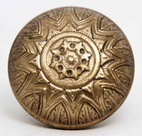 Door Knobs - Antique Corbin Bronze Radial Door Knob