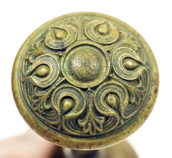 Door Knobs - Antique Russell & Erwin Art Nouveau Bronze Knob Set