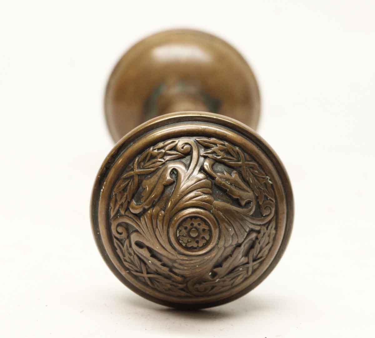 Door Knobs   Antique Sargent Brass Door Knob Set
