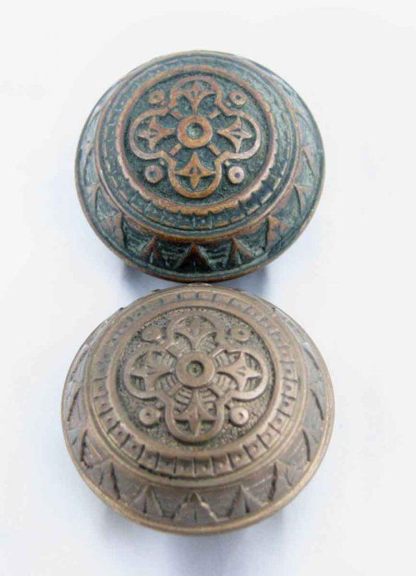 Door Knobs - Antique Vernacular Norwalk Lock Bronze Knob