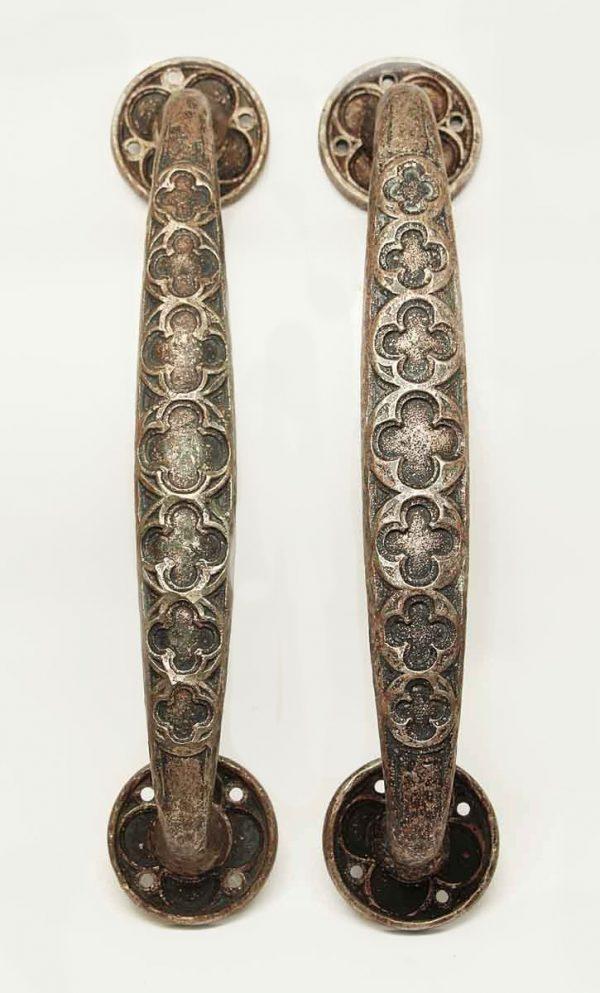 Door Pulls - Antique Gothic Bronze Door Handle Pulls