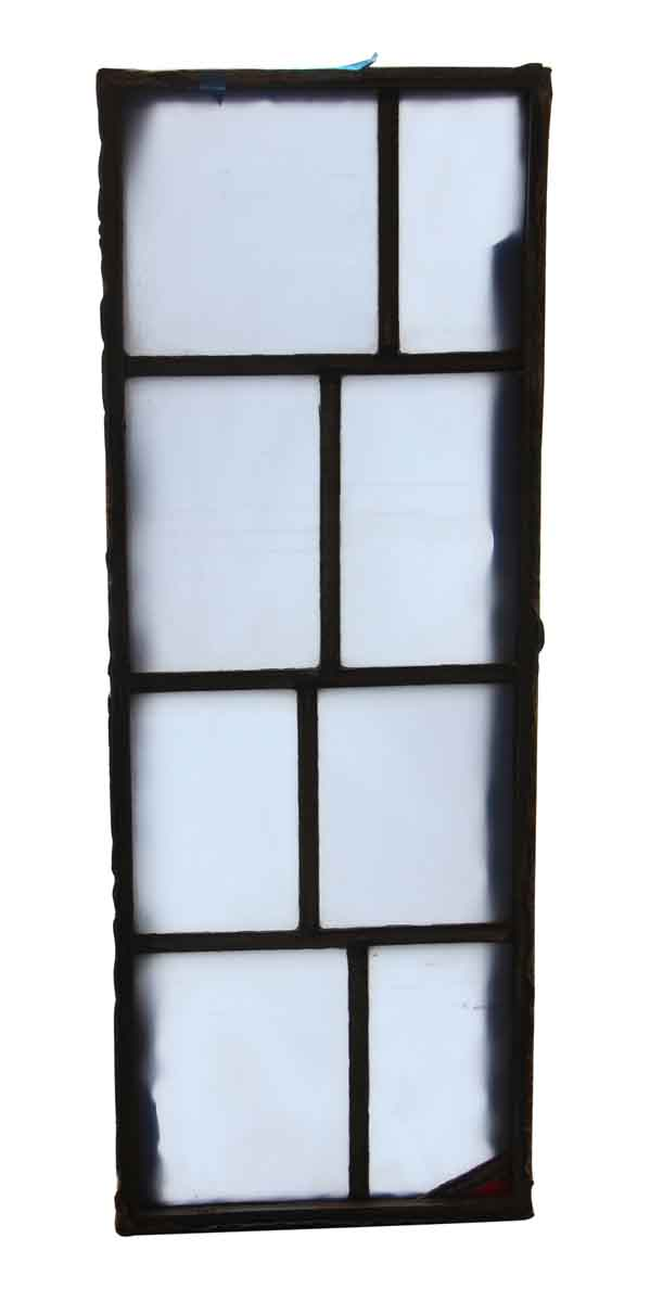 Exclusive Glass - Salvaged Clear JFK Glass Window Panel