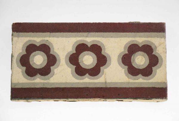 Floor Tiles - Antique Floral Stone Tile