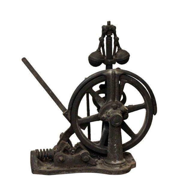 Industrial - Antique Black Elevator Speed Governor