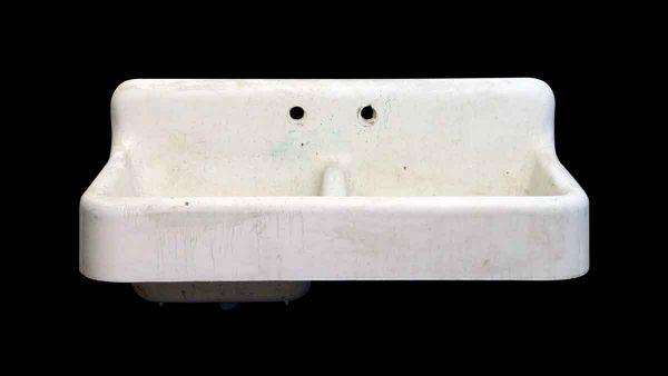 Kitchen - Antique Standard White Cast Iron Standard Double Sink