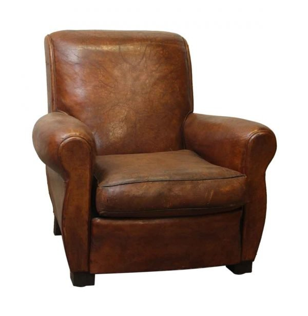 Living Room - Vintage Imported Leather Club Chair