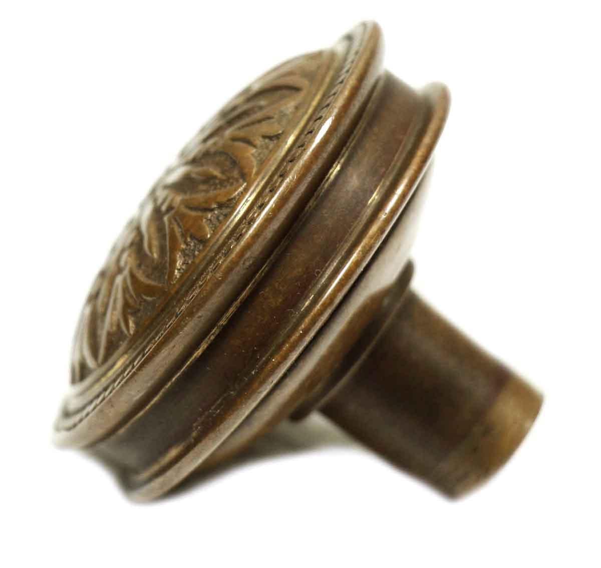 Antique Hopkins & Dickinson Brass Entry Door Knob Set | Olde Good Things