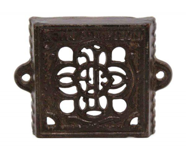 Other Hardware - Ornate Iron Card Holder Bracket