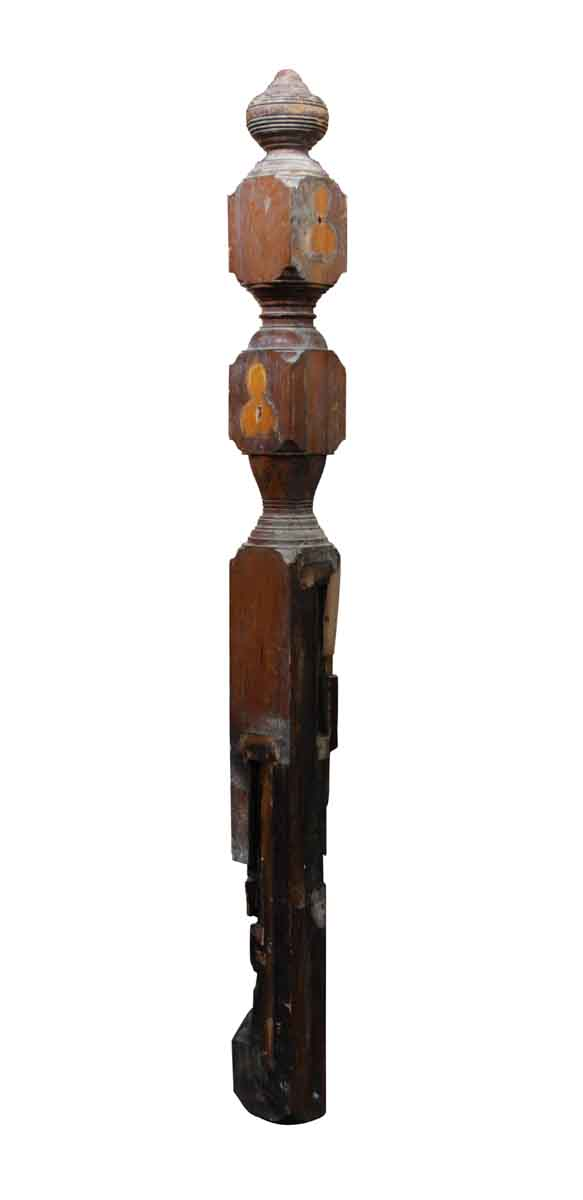 Staircase Elements - Salvaged Wood Staircase Newel Post Set