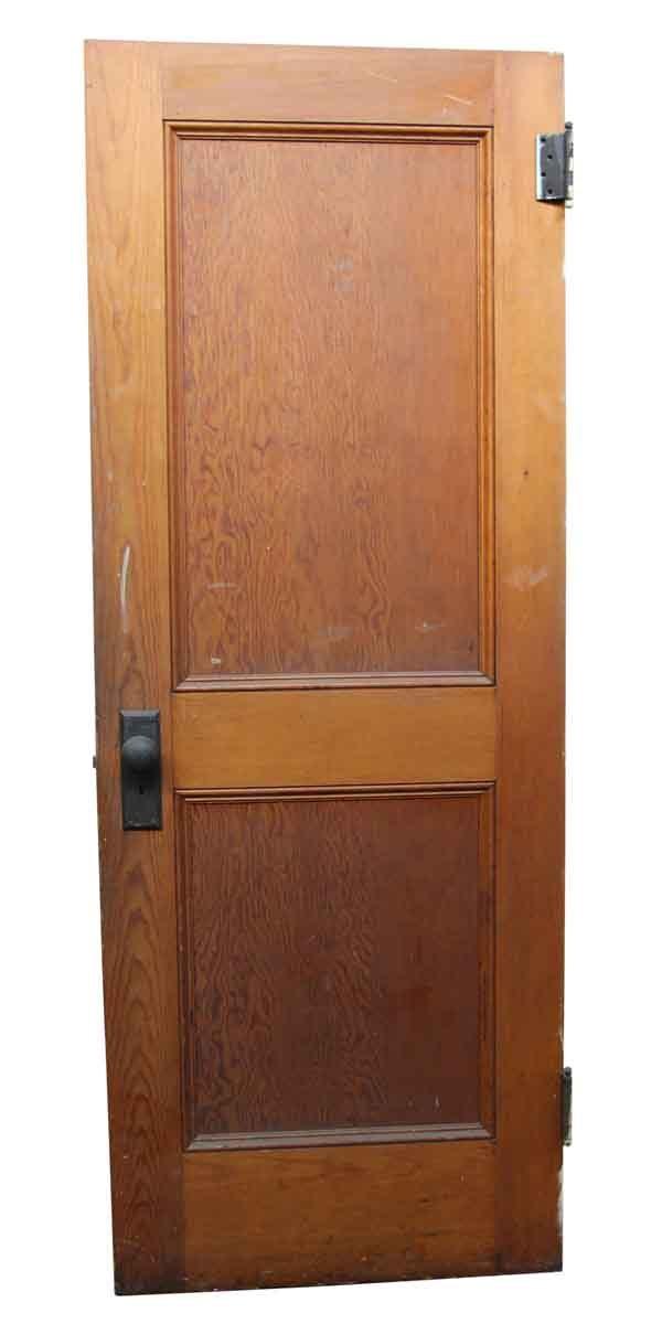 Standard Doors - Antique Two Panel Wooden Door