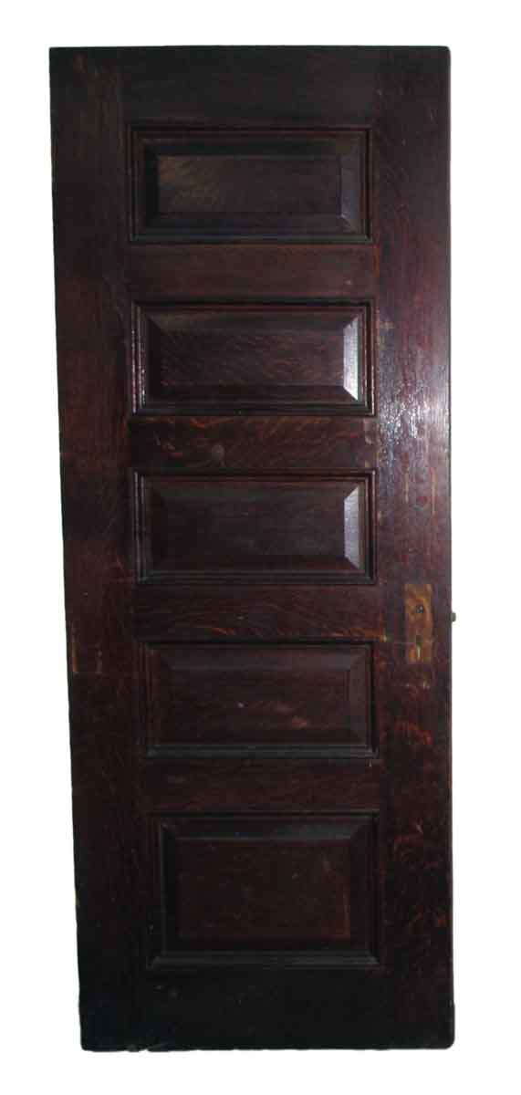 Standard Doors - Old Five Horizontal Pane Interior Door
