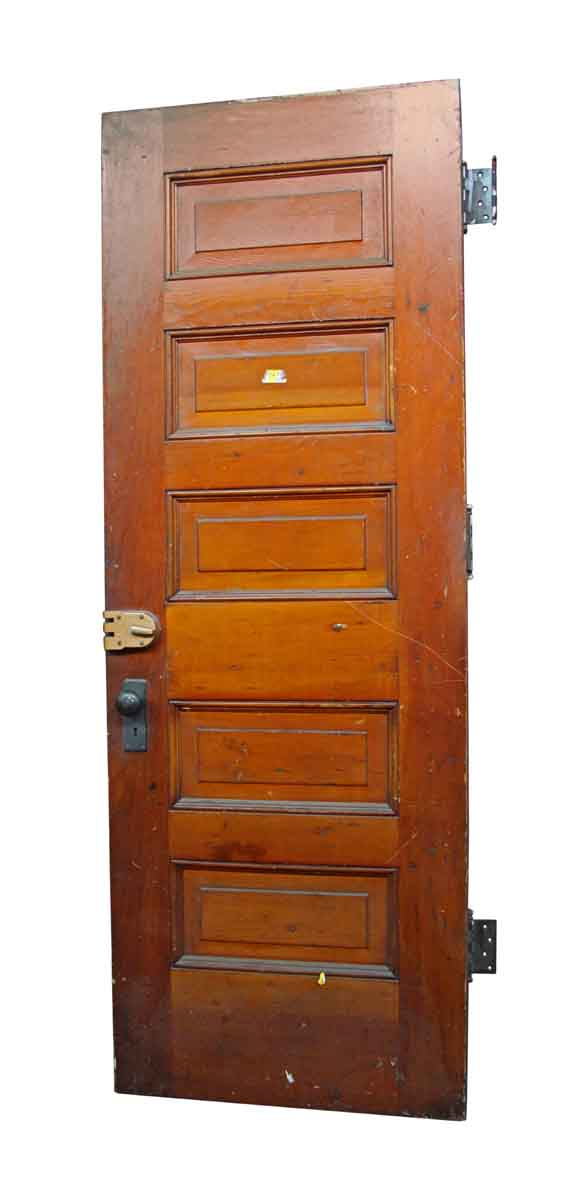 Merveilleux Standard Doors   Old Five Panel Antique Interior Door