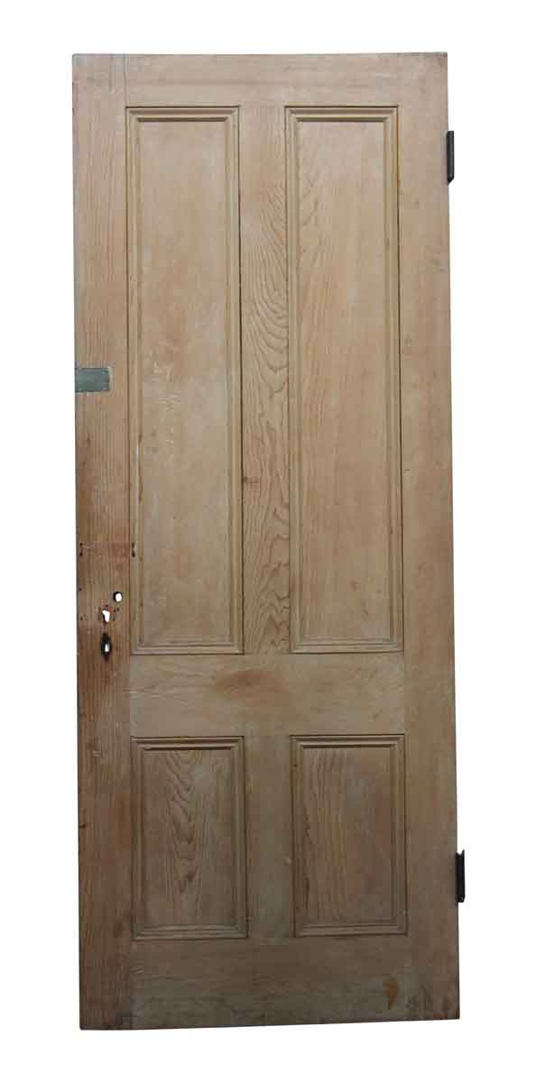Standard Doors - Old Four Panel Wooden Interior Door