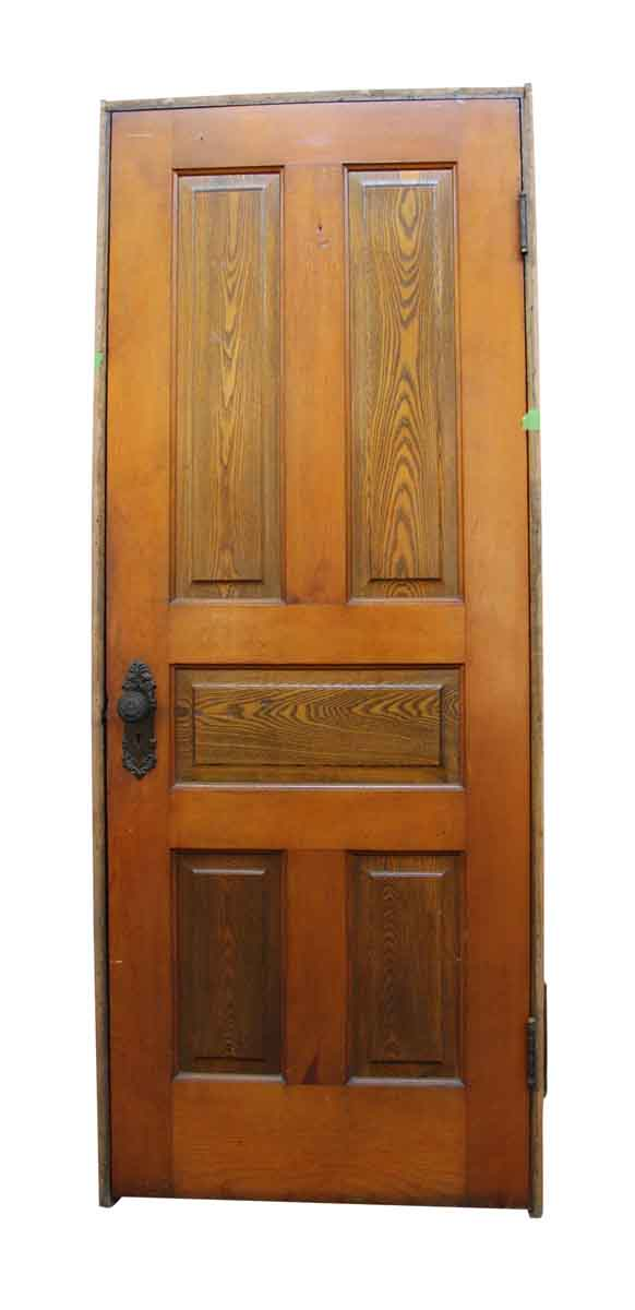 Standard Doors - Salvaged 5 Panel Framed Wooden Door