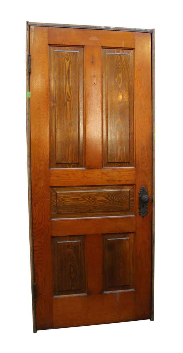 Salvaged Framed 5 Panel Interior Wooden Door Olde Good Things