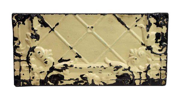 Tin Panels - Off White & Black Antique Tin Panel