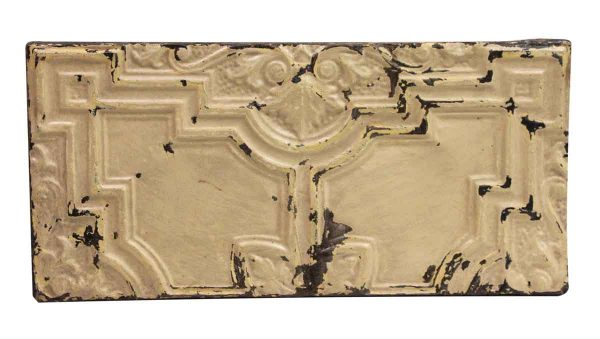 Tin Panels - Tan Decorative Geometric Antique Tin Panel
