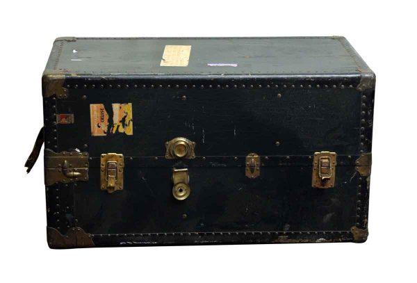 Trunks - Vintage Upright Black Kay Sherman Luggage Trunk
