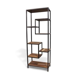 altered-antiques-handmade-walnut-black-steel-modern-shelf-n251567