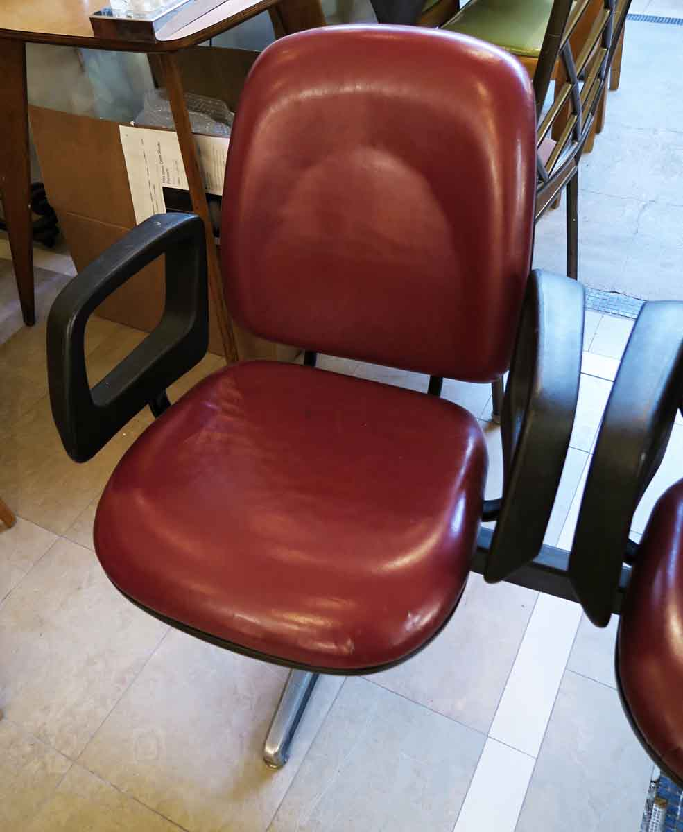 3 seater red commercial seating unit olde good things for Commercial furniture
