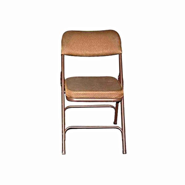 Flea Market - Metal Folding Chair with Cushion Seat