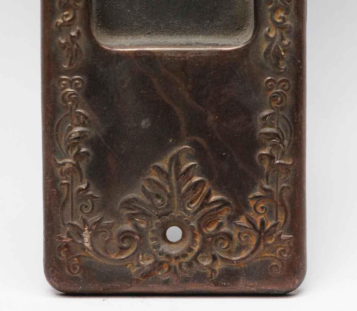 Pocket Door Hardware for Sale - N253978 - Antique Pocket Door Plate With Keyhole Olde Good Things