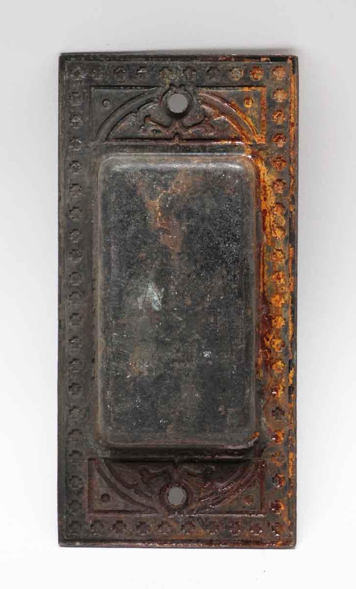 Pocket Door Hardware for Sale - N254120 - Cast Iron Victorian Pocket Door Plate Olde Good Things