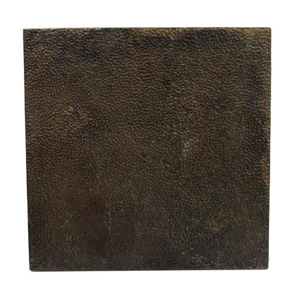 Tin Panels - Brown Textured Antique Tin Panel