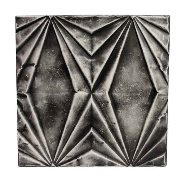 Tin Panels - Handmade Black Art Deco Tin Panel