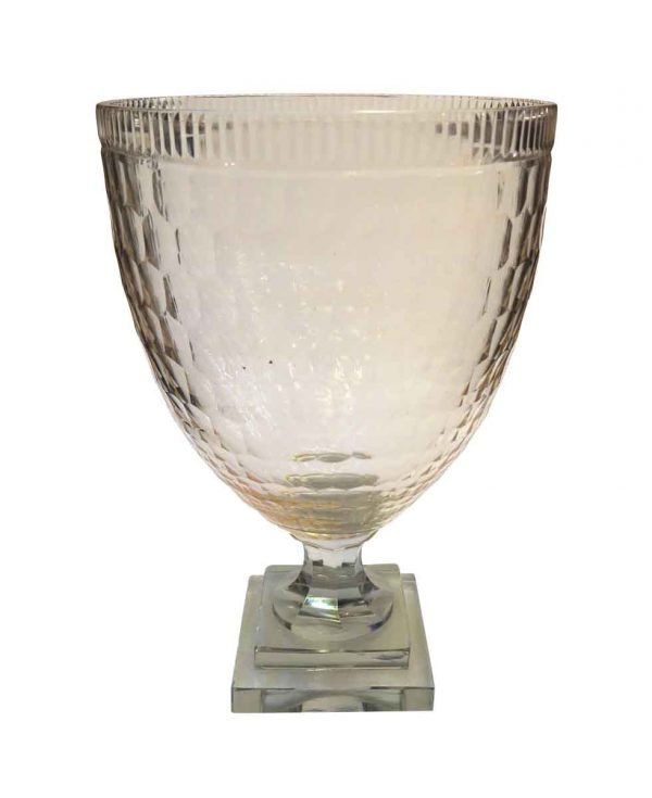 Vases & Urns - Antique Clear Crystal Glass Urn