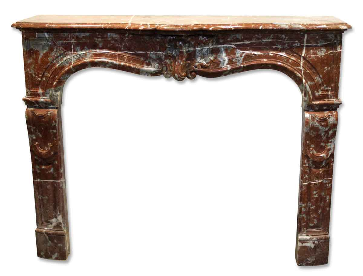 Marble mantel olde good things for Marble mantels for sale