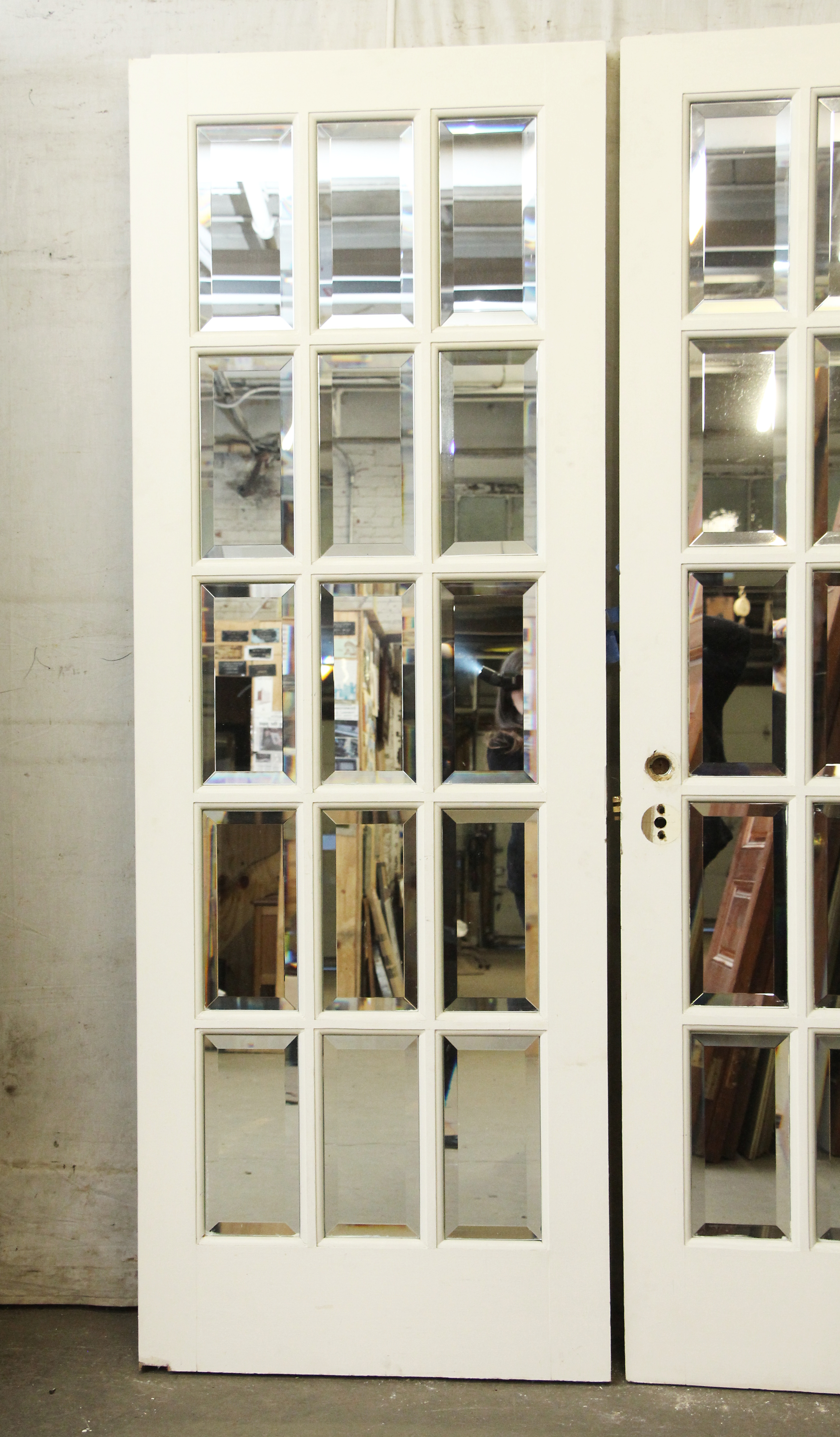 Salvaged Waldorf French Doors or Room Dividers Olde Good Things